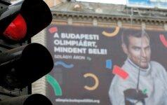 Budapešto olimpinės kandidatūros reklaminė kampanija patyrė pralaimėjimą