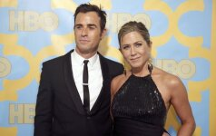 Jennifer Aniston ir Justin Theroux