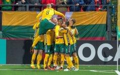 Lietuvos rinktinė įspūdingai pakilo FIFA reitinge, Rusija pasiekė istorinį dugną