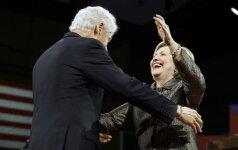 H. Clinton šeimos drama: gražuolių antplūdis ir politiniai maitvanagiai