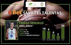 RKL savaitės talentas – aukštaūgis E. Venskus iš Biržų
