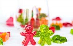 Patiks ne tik vaikams: pats paprasčiausias guminukų receptas