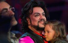 Filipas Kirkorovas su dukra