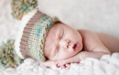 Ateiti kūdikio lankyti tuščiomis - blogas ženklas