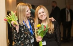Rūta Eidukaitytė (dešinėje) su kolege Aista Gabriele Černiūte