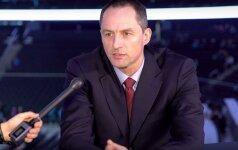 """A. Karnišovas: """"Žalgirio"""" arena – labai arti NBA standartų"""