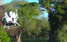"""Golfo laukuose galima skraidyti su """"Martin Jetpack"""" aparatu"""