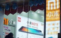 Telefonų parduotuvė Kinijoje