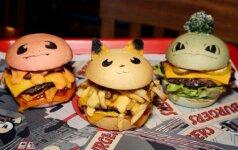 Pokemonų įkvėpti mėsainiai