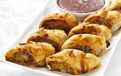 Naminiai pyragėliai su pikantišku mėsos įdaru