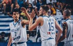 Europos jaunimo čempionais tapo lietuvius sustabdę graikai