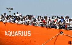 Italija atsikirto kaimynėms dėl sienų saugumo