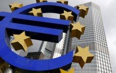 Euras ketvirtadienį pasiekė aukščiausią tašką per daugiau nei metus