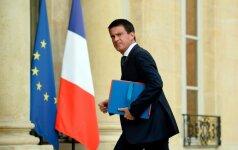 Prancūzijoje vyksta kairiųjų kandidato į prezidentus rinkimai