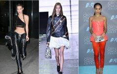 Naujausios tendencijos laviruoja tarp stiliaus ir beskonybės