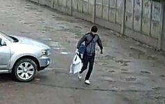 Šiaulių policija prašo atpažinti vagyste įtariamą vyrą