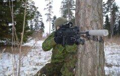 Taikliojo šaulio ginklas FN SCAR-H