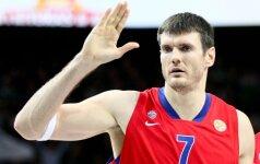 D.Lavrinovičius vedė CSKA į pergalę