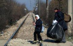 Turkijos sieną pasiekė 35 tūkst. pabėgėlių iš Alepo miesto