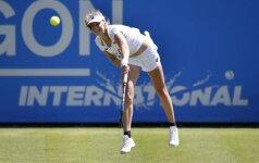WTA turnyro Anglijoje ketvirtfinalyje – dvi rusės