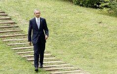 B. Obama su istoriniu vizitu apsilankys Hirošimoje