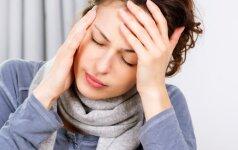 Iš rankų krenta daiktai, dvejinasi akyse – liga baigiasi paralyžiumi