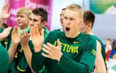 Lietuvos krepšininkai žais Europos jaunimo olimpinio festivalio finale