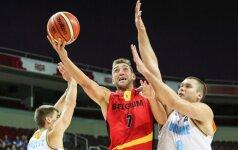 Europos čempionatui pasiruošę: belgų treneris išsirinko dvyliktuką