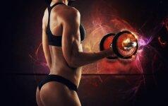 7 mitai apie svorius kilnojančias moteris