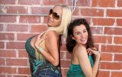 Aktorė ir buvusi pornografijos žvaigždė užsitempė provokuojančius džinsus