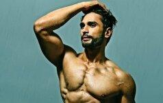 Saldainis iš Indijos: išrinktas gražiausias pasaulio vyras