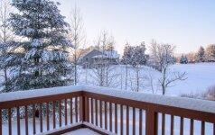 Terasos priežiūra žiemą – kaip tai padaryti teisingai