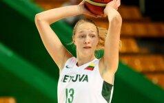 Lietuva draugiškose moterų krepšinio rungtynėse įveikė Latviją