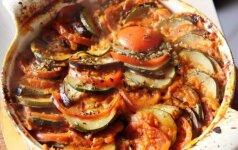Prancūziškas daržovių troškinys - Ratatouille