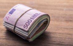 Nuspręsta: nebeliks 500 eurų kupiūros