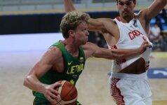 Nė karto nepirmavusi Lietuva po dramatiško mūšio pralaimėjo Kroatijai
