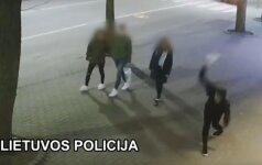 Kurorto policija prašo atpažinti vandalą