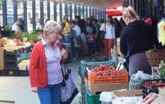 Prekybos metinis augimas Lietuvoje išlieka vienas didžiausių ES