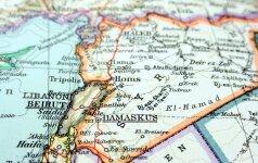 Sirijos žemėlapis