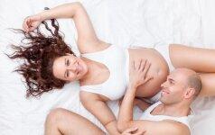 Kodėl nėščioms moterims sveika patirti orgazmą