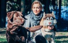 Eglės Kernagytės - Dambrauskės meilę gyvūnams paveldėjo ir sūnus