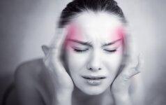 Siūlo atsikratyti galvos skausmo vos per dvi minutes