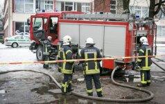 Po gaisro Vilniaus mokykloje – pasiūlymai dėl privalomų priemonių