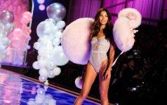 """ATVIRAI: kaip """"Victoria's Secret"""" angelai laikosi dietos ir linksminasi"""