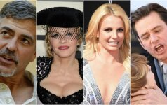 George Clooney, Madonna, Britney Spears, Jim Carrey
