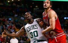 J. Noah tapo geriausiai besiginančiu NBA krepšininku