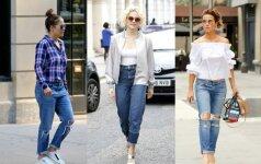 Atrodykite stilingiau: 3 idėjos, prie ko derinti džinsus