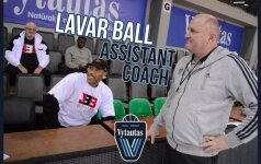 """Netikėtas posūkis: LaVaras Ballas padės Šeškui treniruoti """"Vytautą"""""""