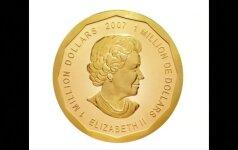 Iš Berlyno muziejaus pavogta 1 mln. JAV dolerių vertės moneta