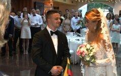 Sofios Gelašvili ir Domyniko Niūniavo vestuvės